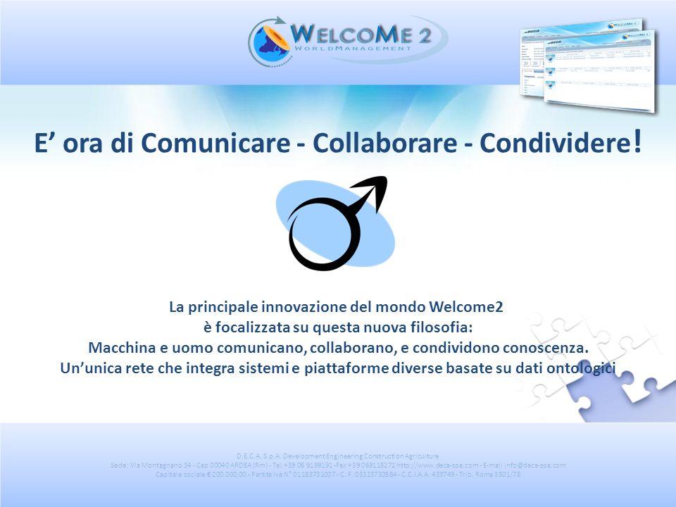 E' ora di Comunicare - Collaborare - Condividere!