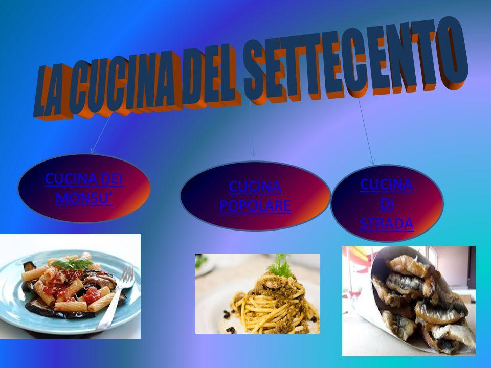 LA CUCINA DEL SETTECENTO
