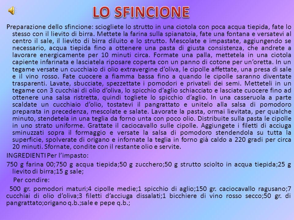 LO SFINCIONE