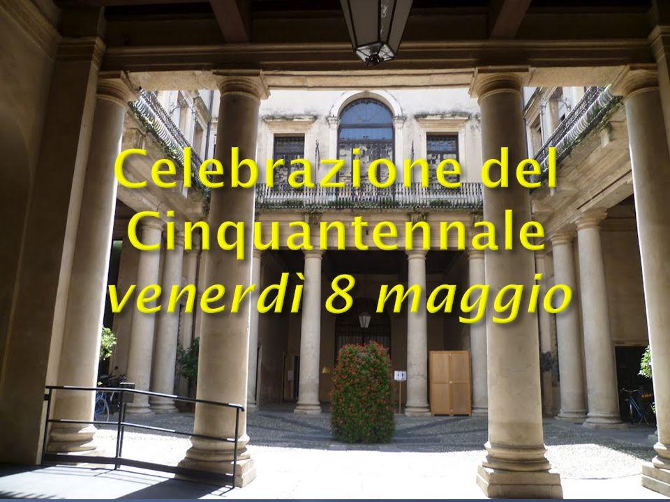 Celebrazione del Cinquantennale venerdì 8 maggio