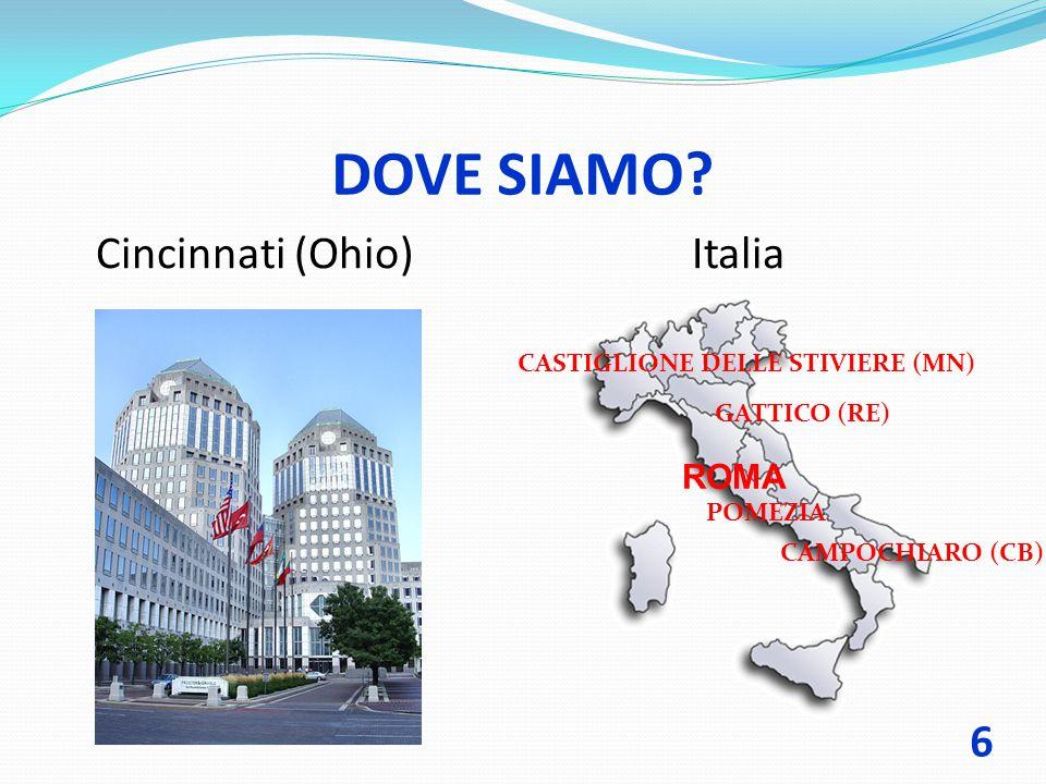 DOVE SIAMO Cincinnati (Ohio) Italia ROMA