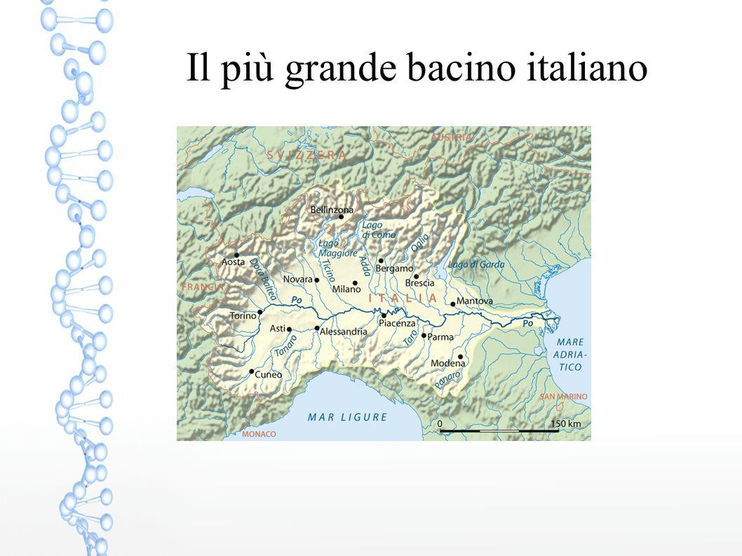 Il più grande bacino italiano