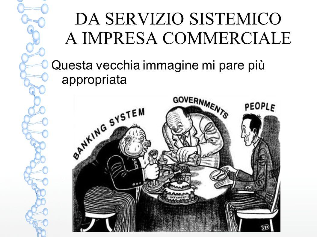 DA SERVIZIO SISTEMICO A IMPRESA COMMERCIALE