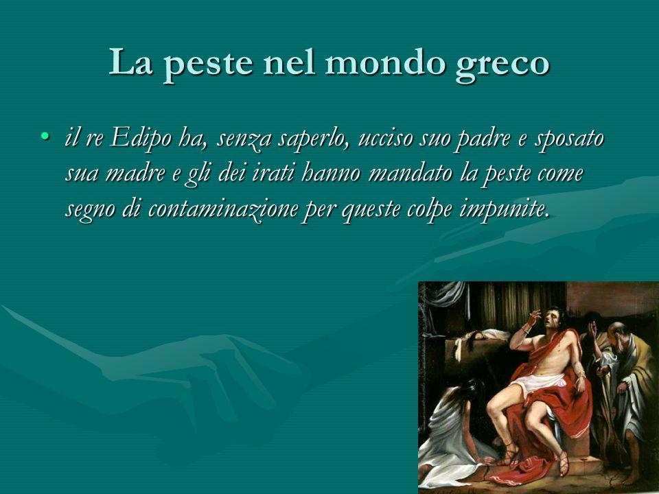 La peste nel mondo greco