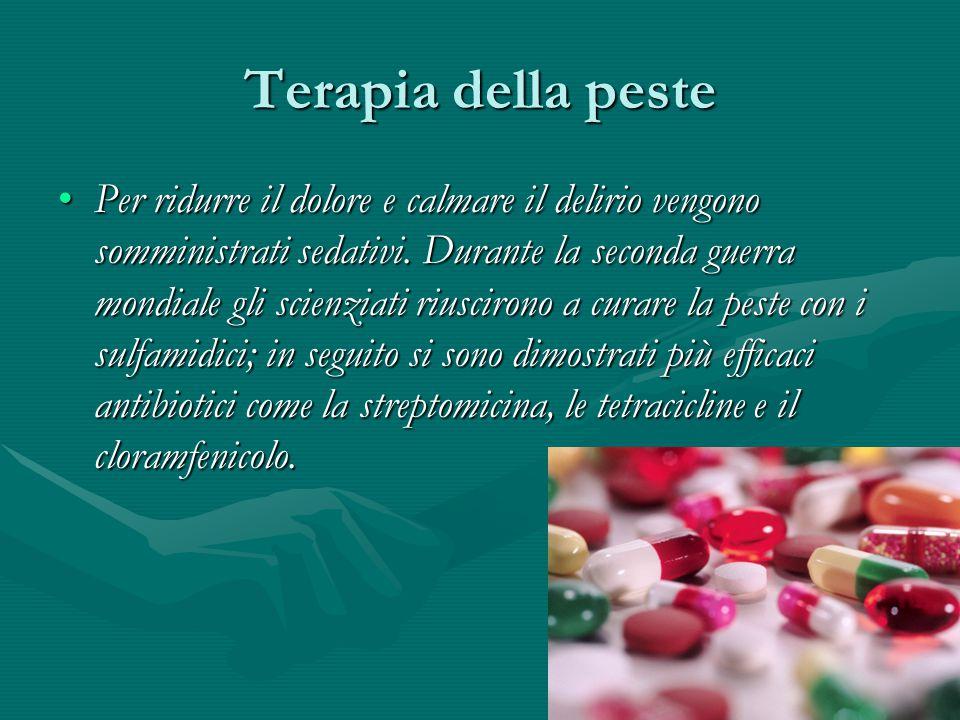 Terapia della peste