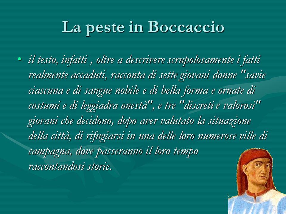 La peste in Boccaccio