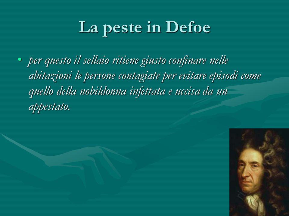 La peste in Defoe
