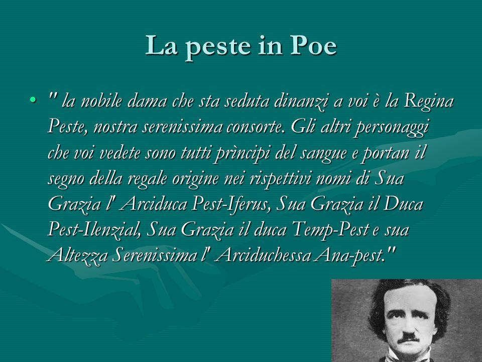 La peste in Poe