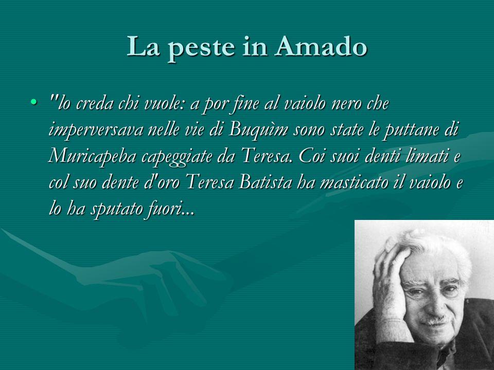 La peste in Amado