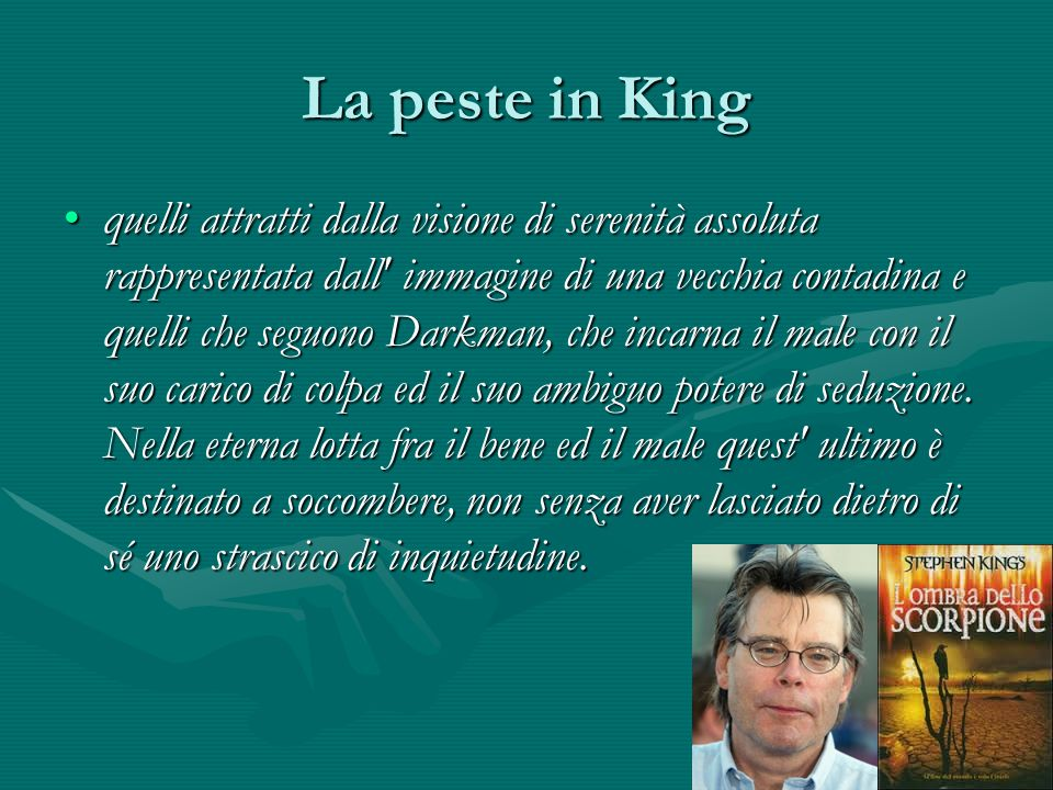 La peste in King