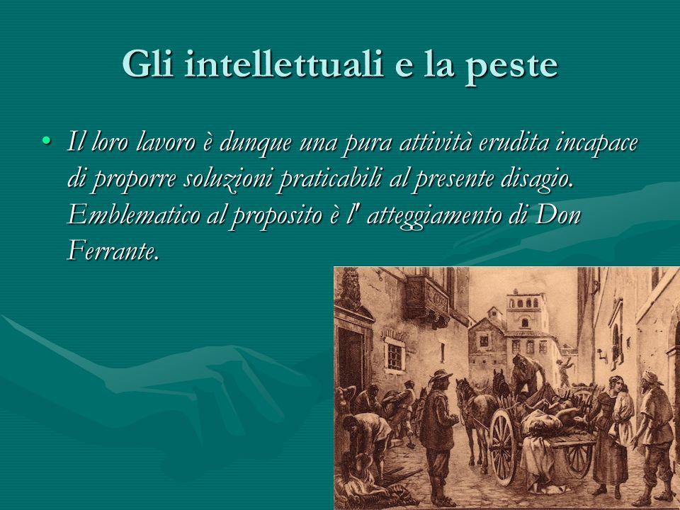 Gli intellettuali e la peste