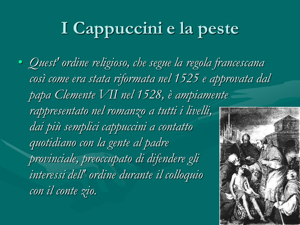 I Cappuccini e la peste