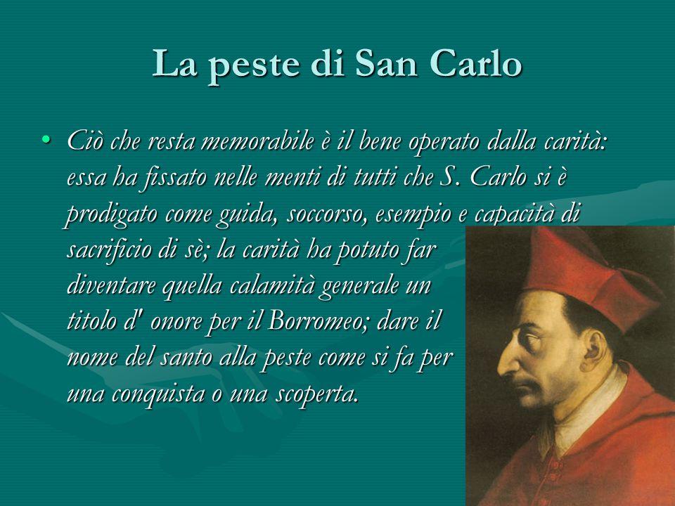 La peste di San Carlo