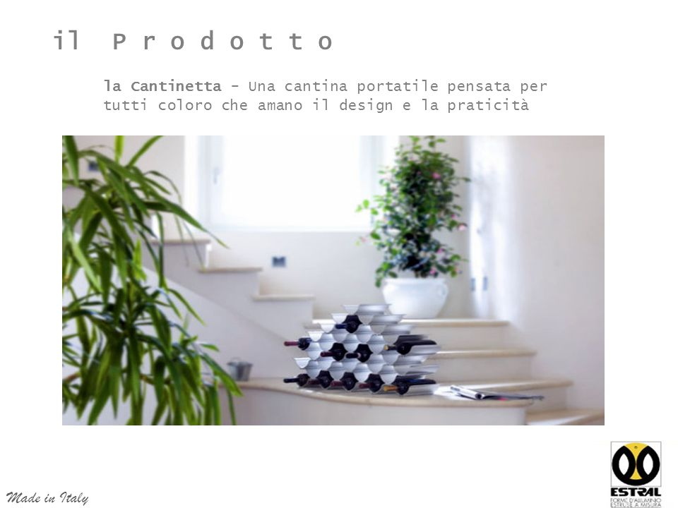 il P r o d o t t o Made in Italy