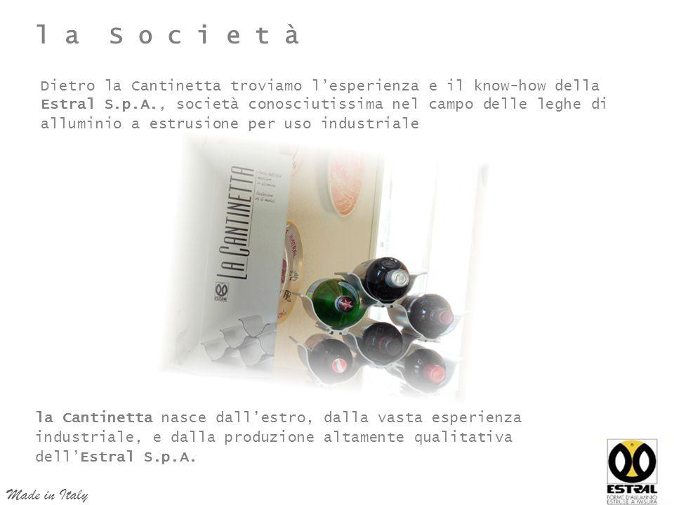 l a S o c i e t à Made in Italy