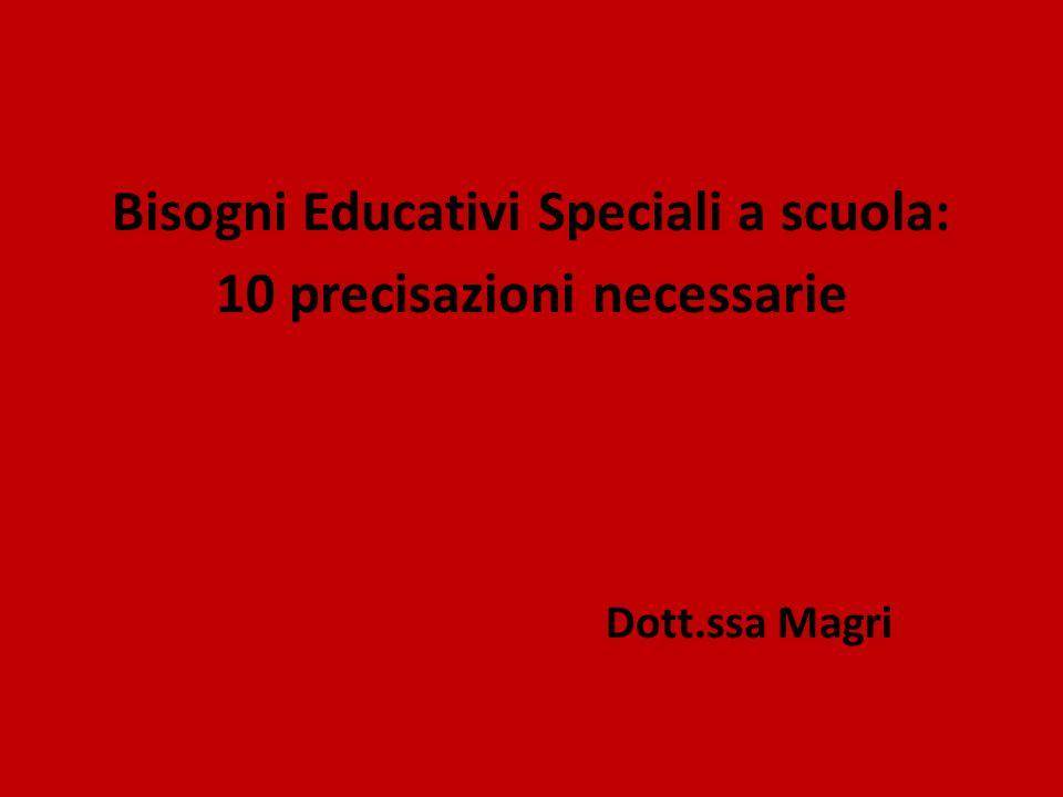 Bisogni Educativi Speciali a scuola: 10 precisazioni necessarie