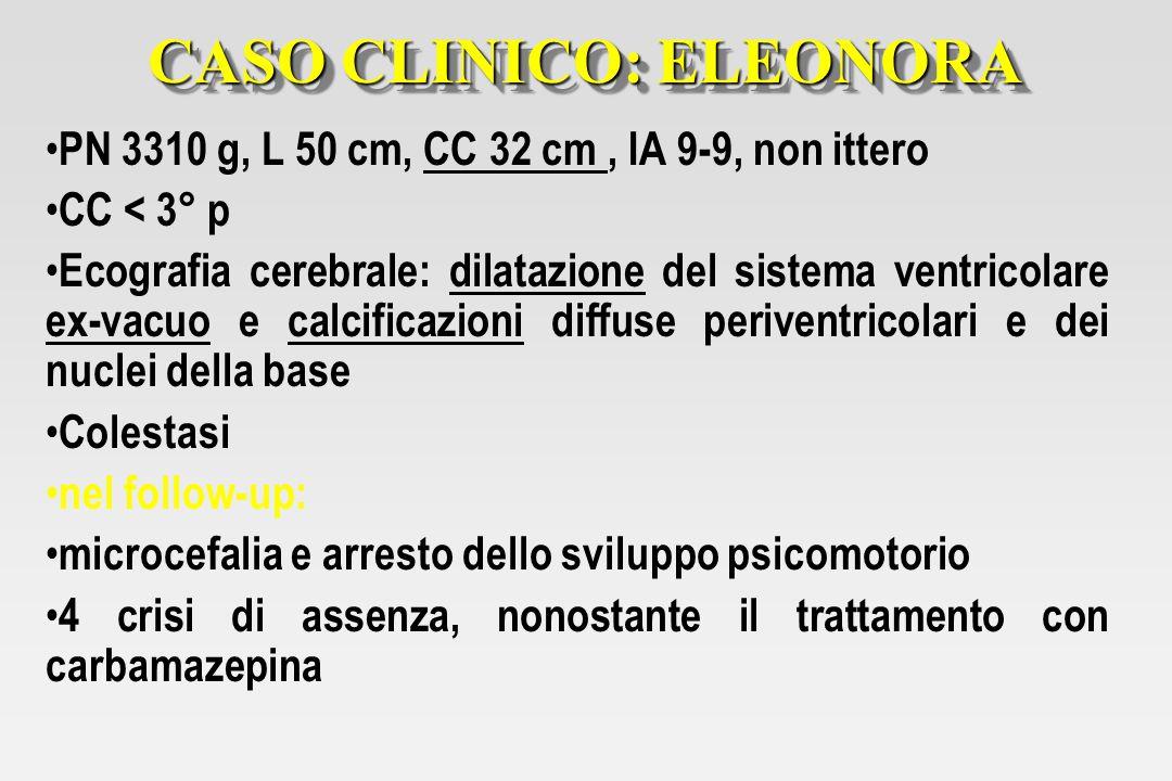 CASO CLINICO: ELEONORA