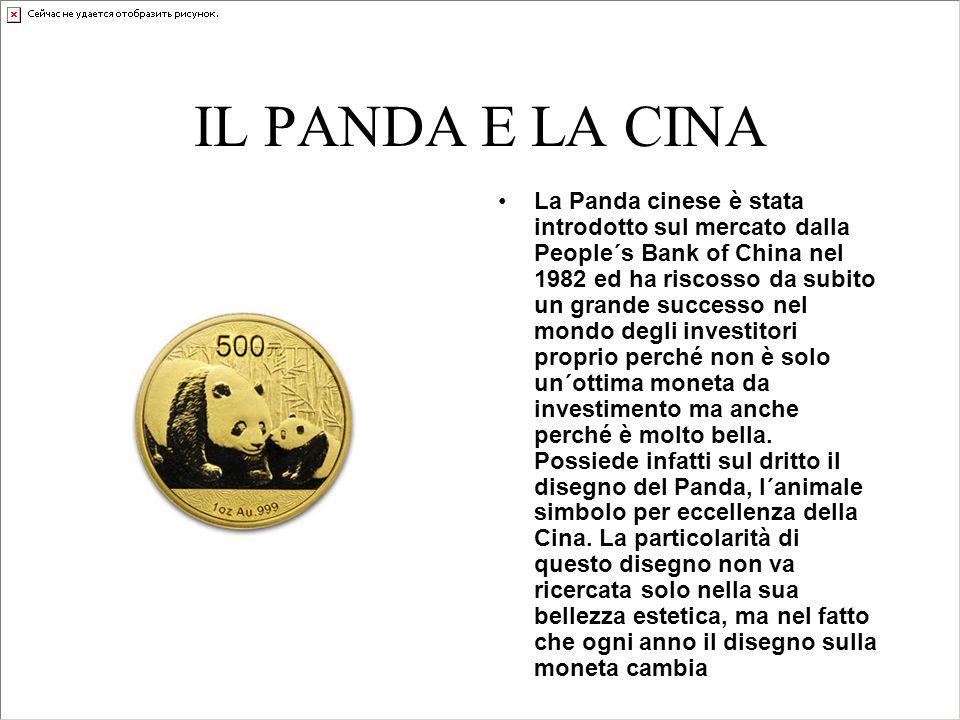 IL PANDA E LA CINA