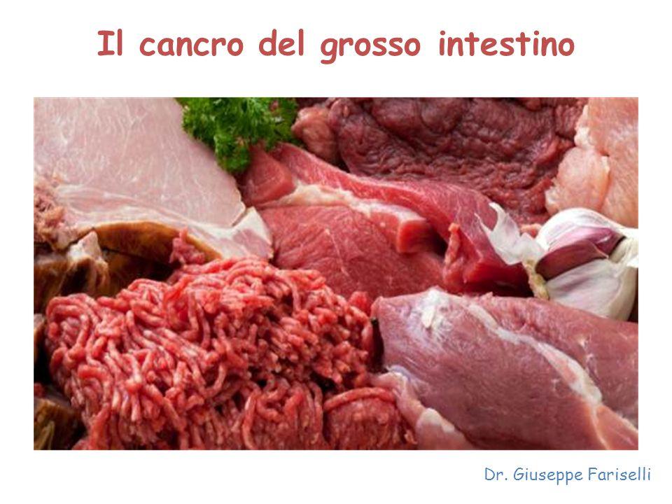 Il cancro del grosso intestino