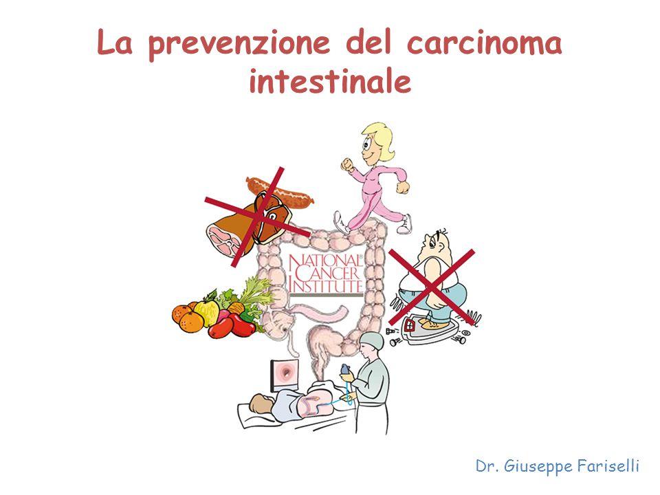La prevenzione del carcinoma intestinale