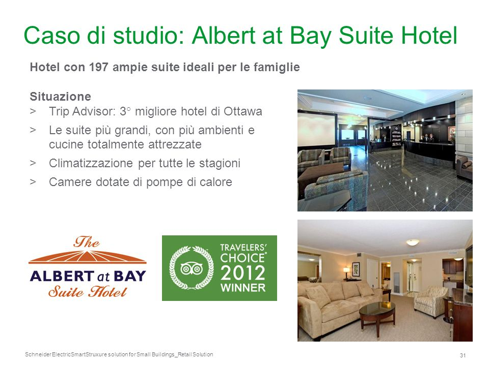 Caso di studio: Albert at Bay Suite Hotel