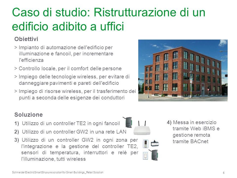Caso di studio: Ristrutturazione di un edificio adibito a uffici