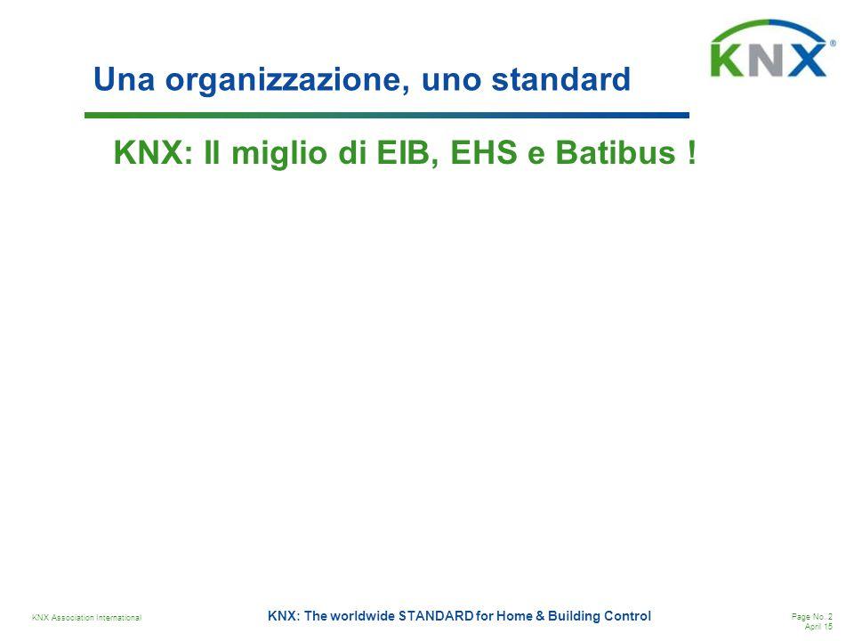Una organizzazione, uno standard