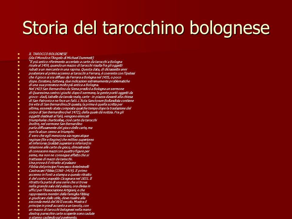 Storia del tarocchino bolognese