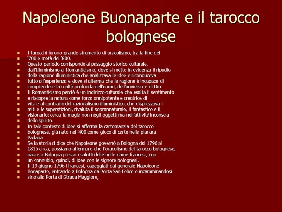 Napoleone Buonaparte e il tarocco bolognese