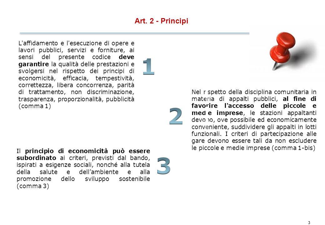 Contratti esclusi dall'applicazione del Codice degli Appalti…