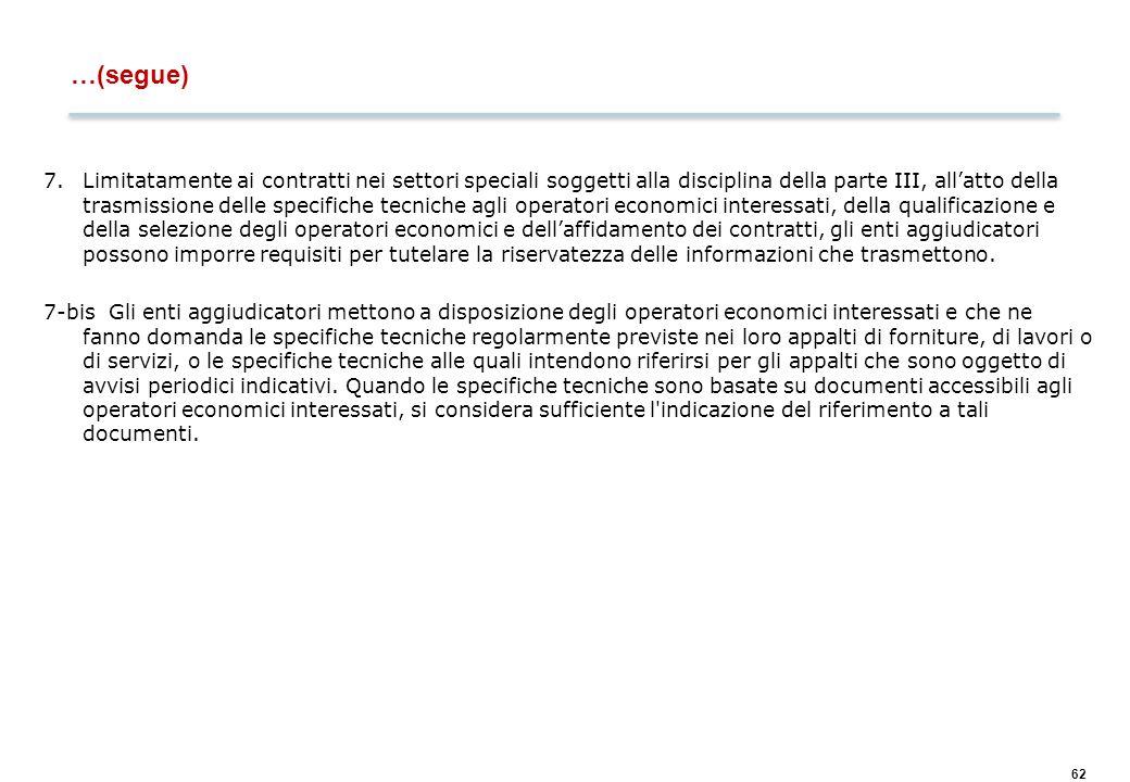 Art. 121 – Disciplina comune applicabile ai contratti pubblici di lavori,