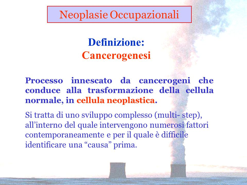 Definizione: Cancerogenesi
