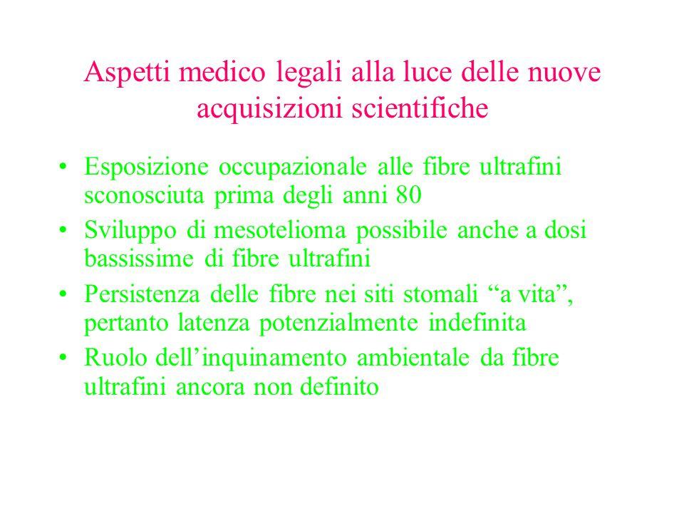 Aspetti medico legali alla luce delle nuove acquisizioni scientifiche