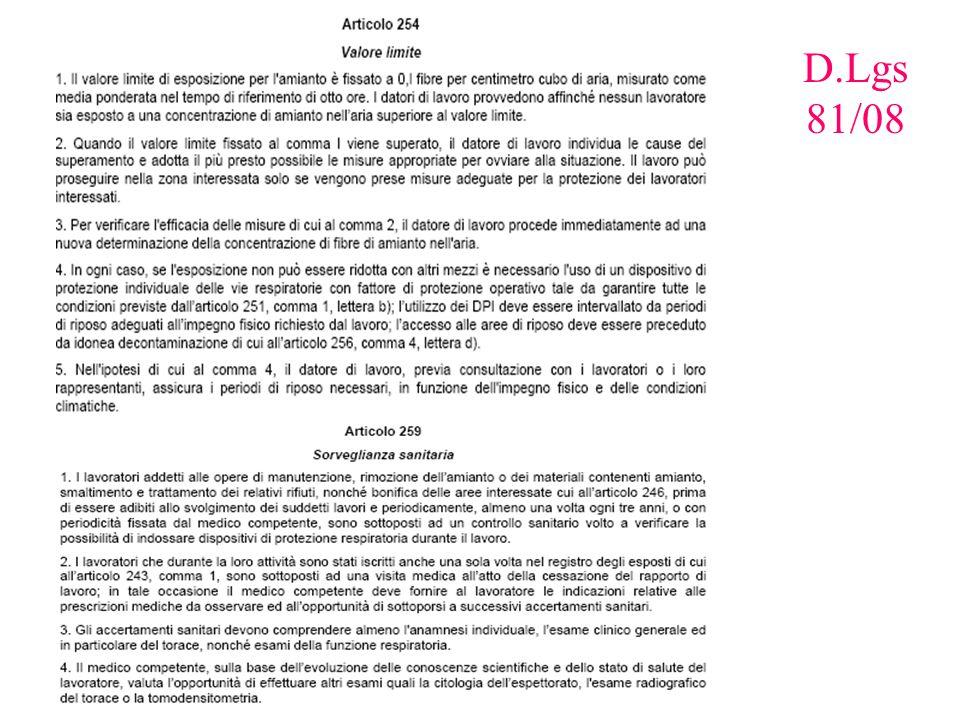 D.Lgs 81/08