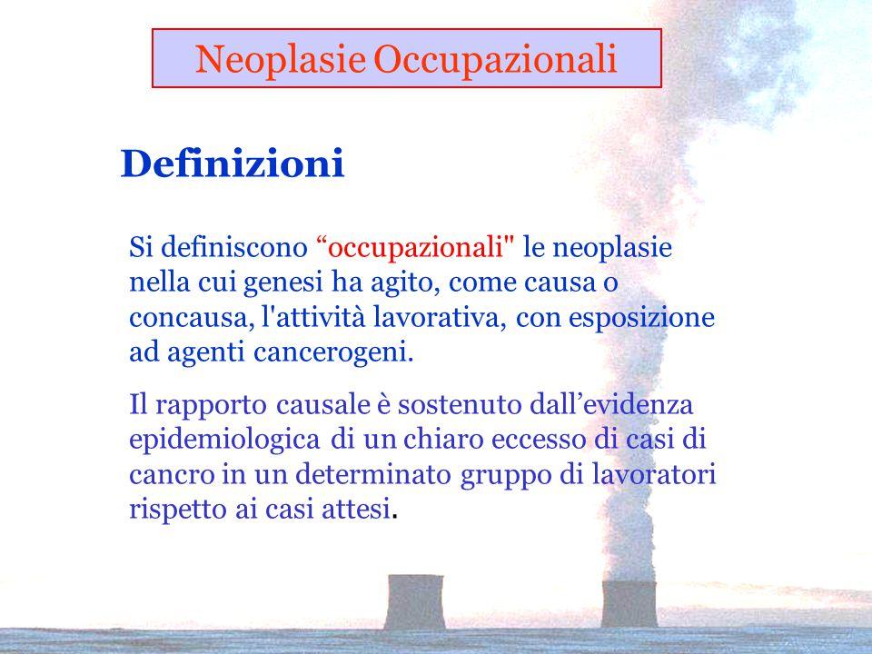 Neoplasie Occupazionali