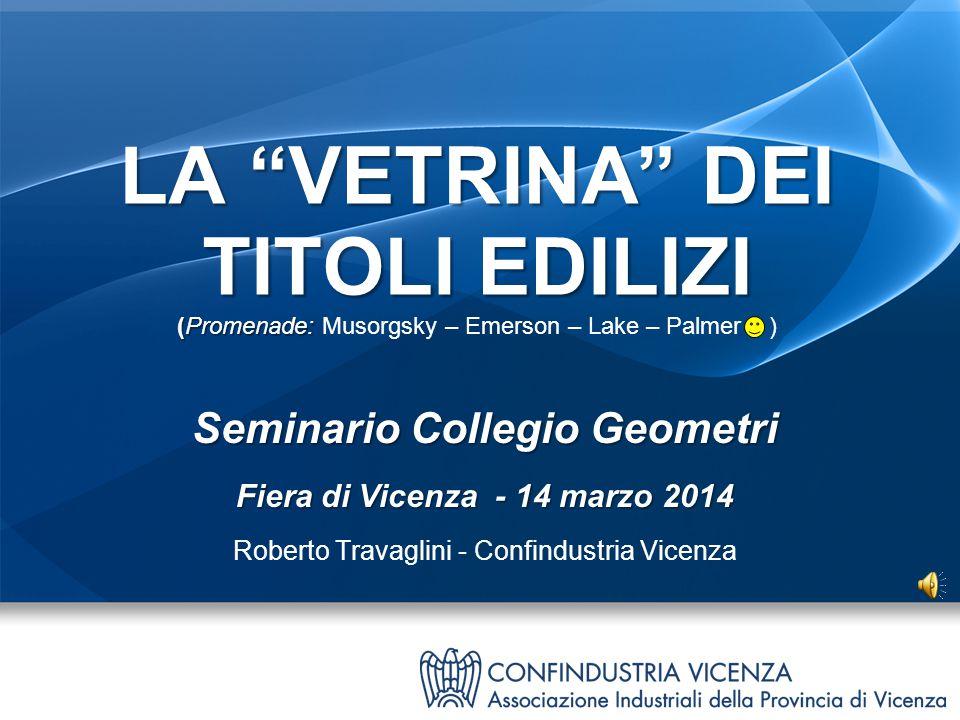 Seminario Collegio Geometri Fiera di Vicenza - 14 marzo 2014