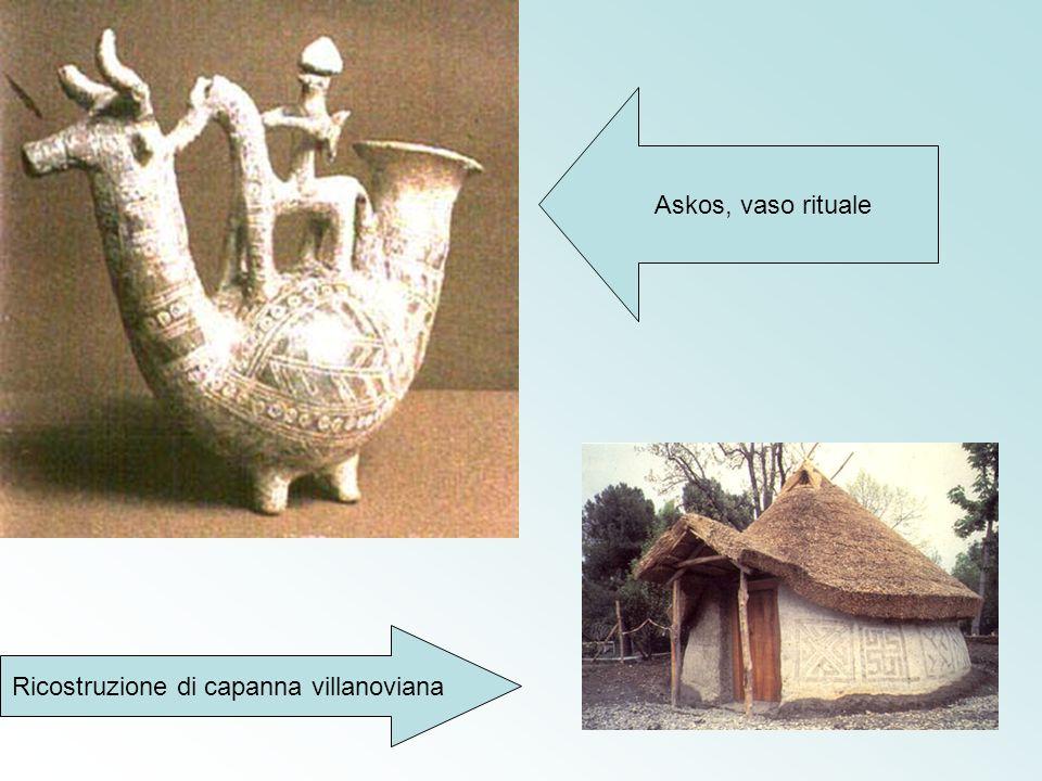 Ricostruzione di capanna villanoviana