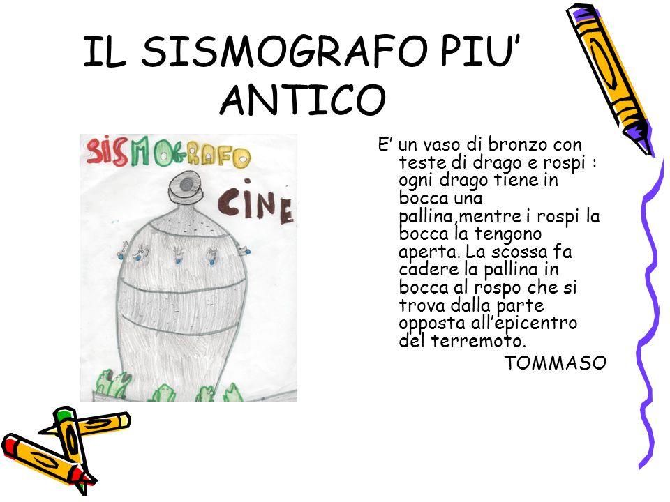 IL SISMOGRAFO PIU' ANTICO