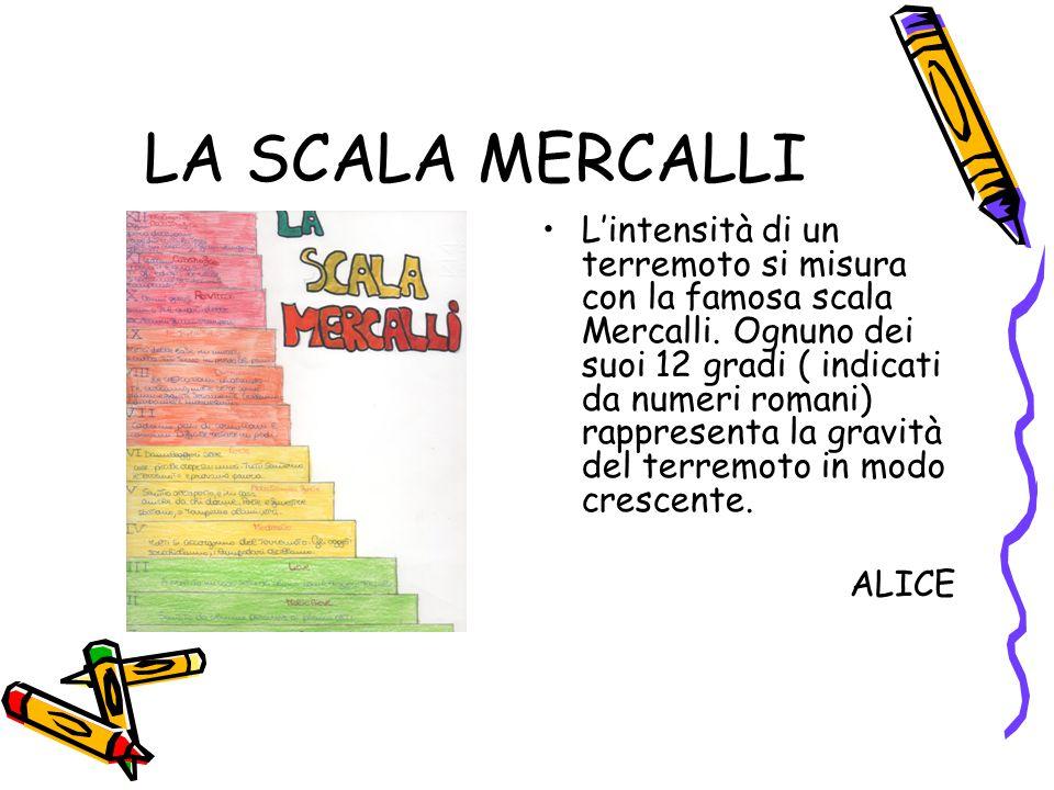 LA SCALA MERCALLI