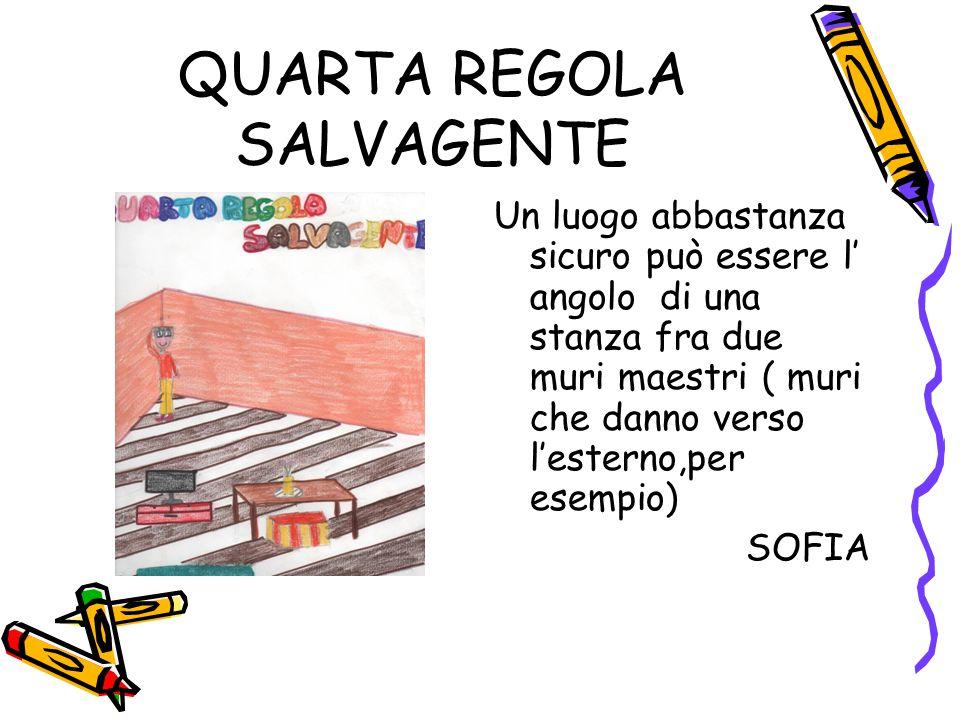 QUARTA REGOLA SALVAGENTE