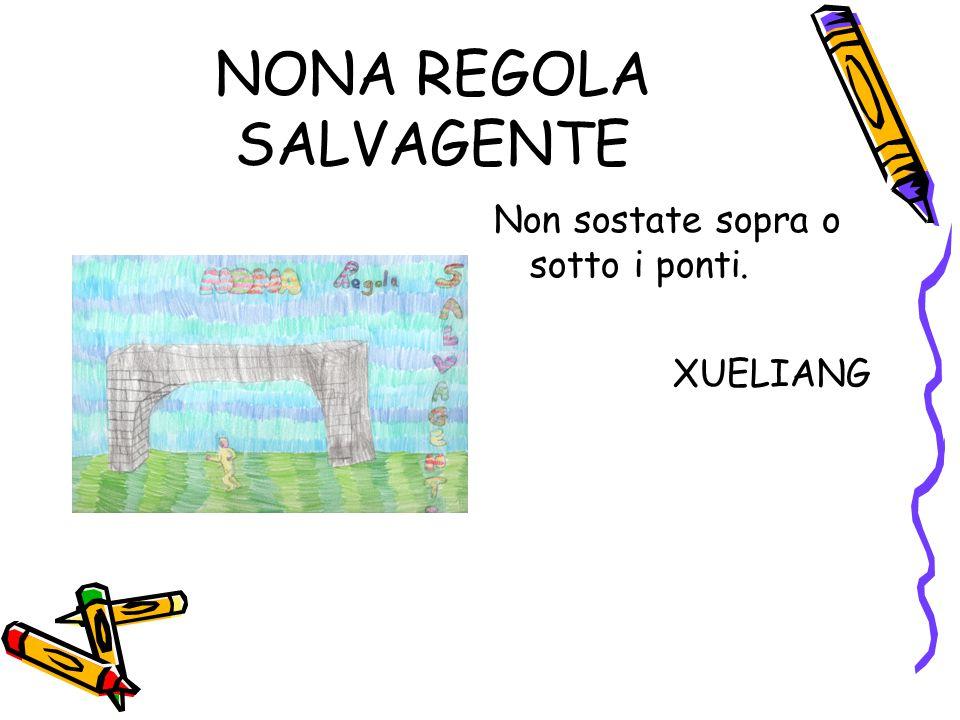 NONA REGOLA SALVAGENTE