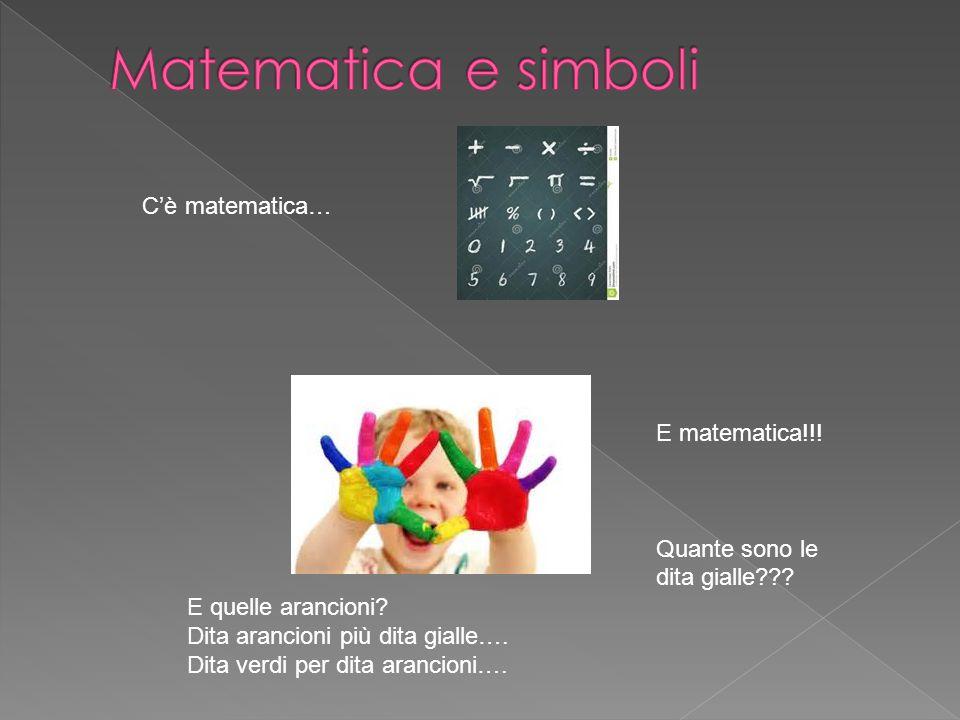 Matematica e simboli C'è matematica… E matematica!!!