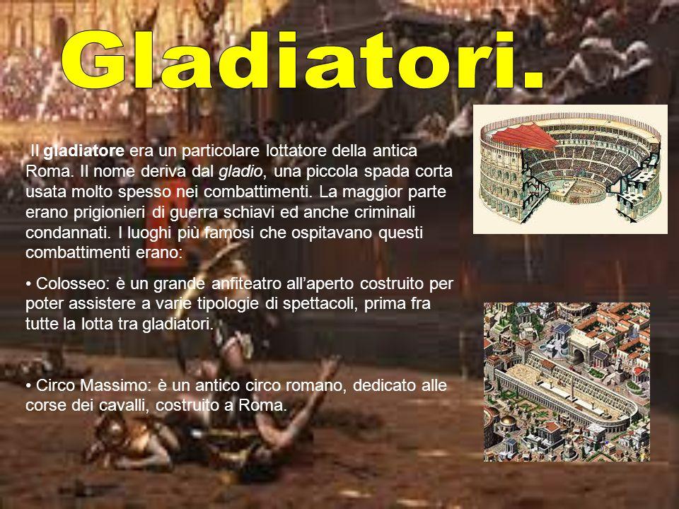 Gladiatori.