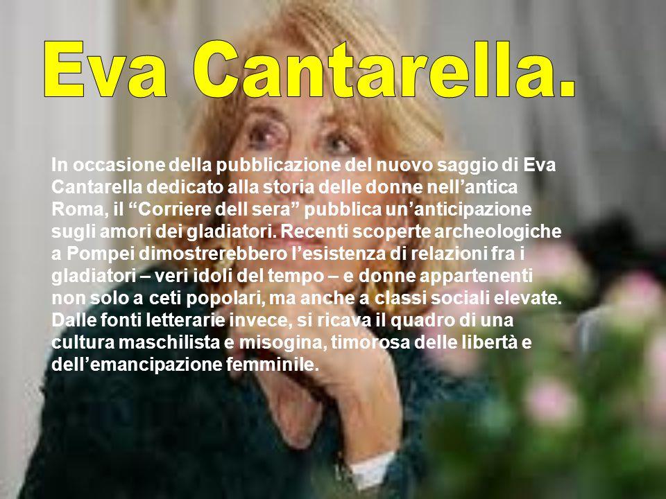 Eva Cantarella.