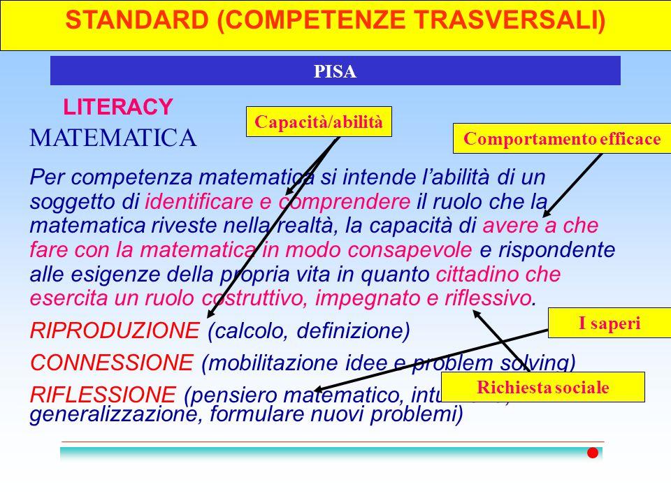 STANDARD (COMPETENZE TRASVERSALI)4