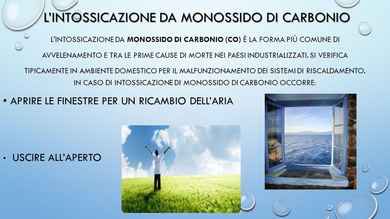 L'intossicazione da monossido di carbonio