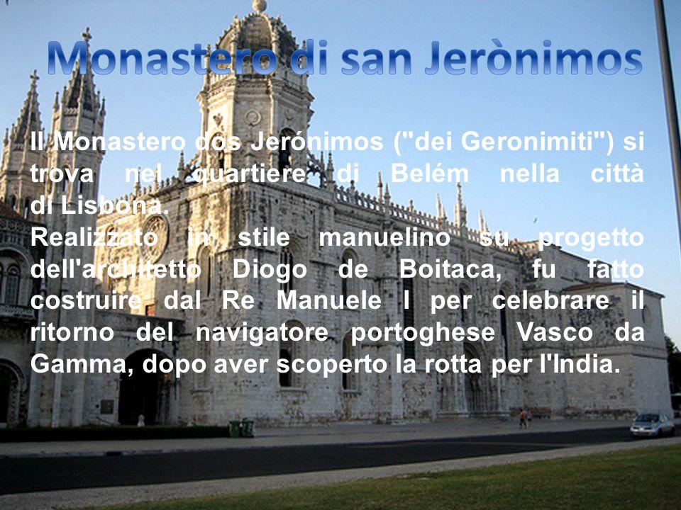 Monastero di san Jerònimos