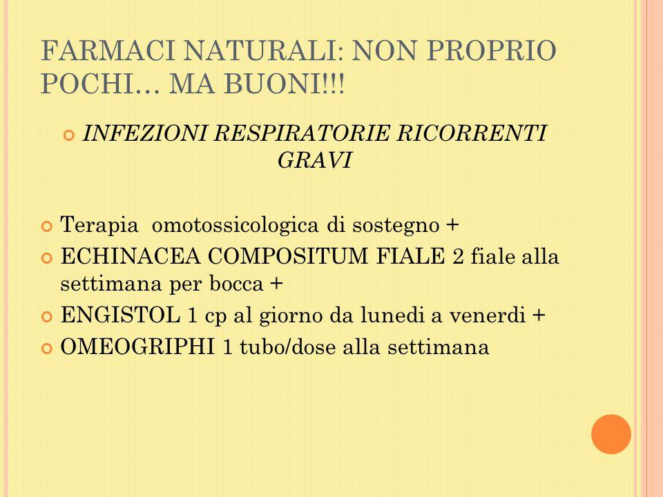 FARMACI NATURALI: NON PROPRIO POCHI… MA BUONI!!!
