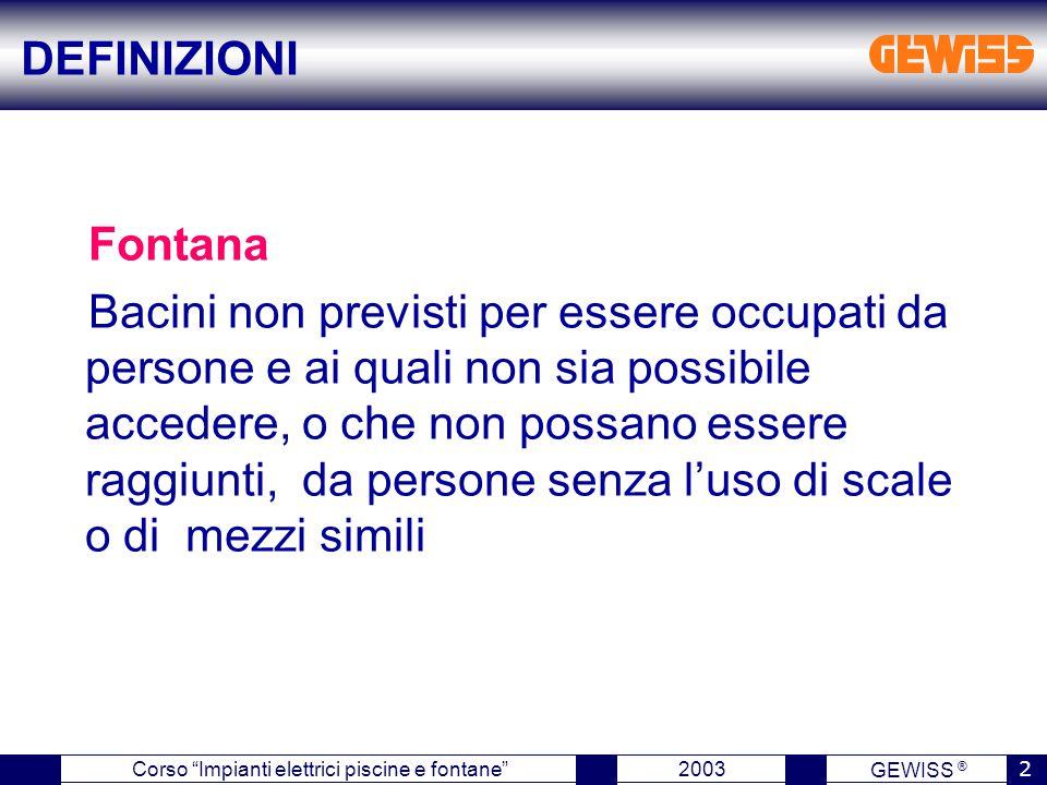 DEFINIZIONI Fontana.