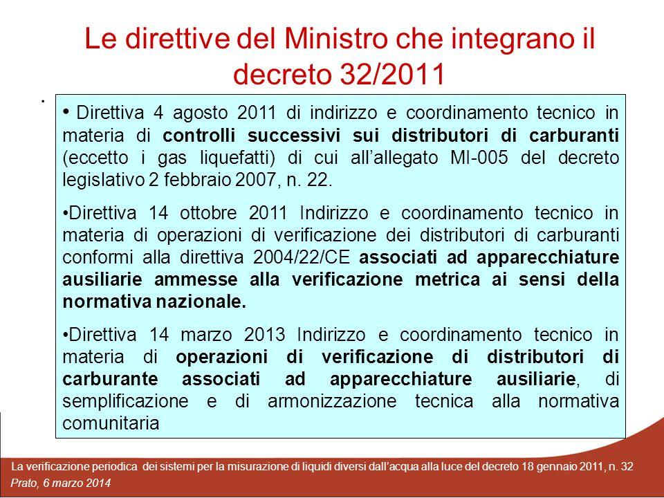 Le direttive del Ministro che integrano il decreto 32/2011